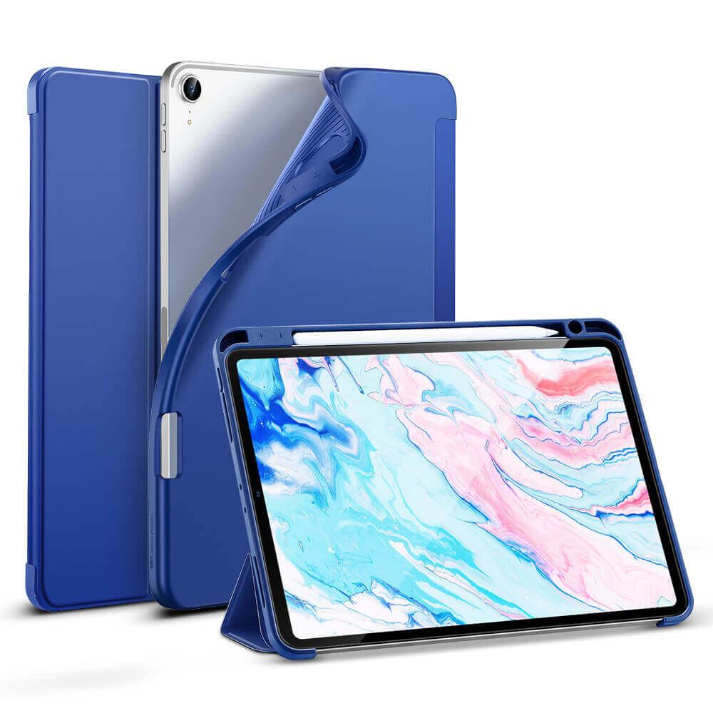 Чехол-книжка с держателем для Apple Pencil ESR Rebound Pencil Navy Blue для iPad Air 4 (2020)