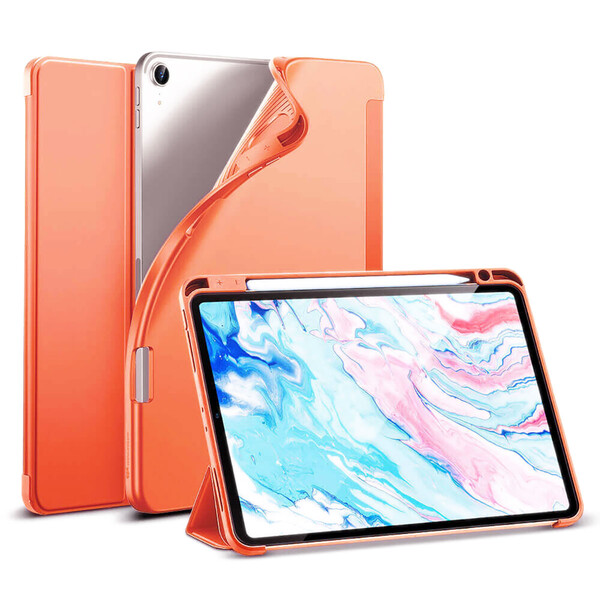 Чехол-книжка с держателем для Apple Pencil ESR Rebound Pencil Papaya для iPad Air 4 (2020)