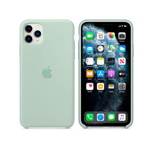Купить Силиконовый чехол Apple Silicone Case Beryl (MXM72) для iPhone 11 Pro