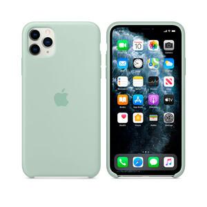 Купить Силиконовый чехол Apple Silicone Case Beryl (MXM92) для iPhone 11 Pro Max