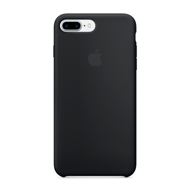 Силиконовый чехол Apple Silicone Case Black (MMQR2) для iPhone 7 Plus