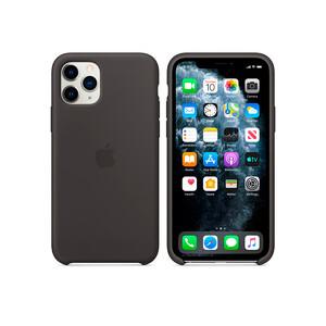 Купить Силиконовый чехол Apple Silicone Case Black (MWYN2) для iPhone 11 Pro