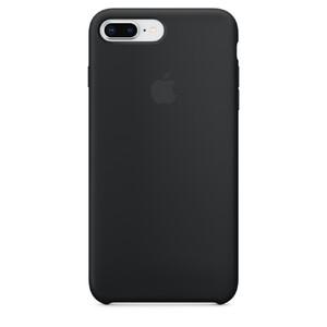 Купить Силиконовый чехол Apple Silicone Case Black (MQGW2) для iPhone 8 Plus/7 Plus