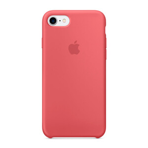 Купить Силиконовый чехол Apple Silicone Case Camellia (MQ0K2) для iPhone 7/8