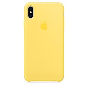 Купить Силиконовый чехол Apple Silicone Case Canary Yellow (MW962) для iPhone XS Max