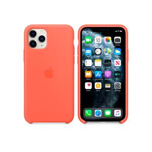 Купить Силиконовый чехол Apple Silicone Case Clementine (Orange) (MWYQ2) для iPhone 11 Pro