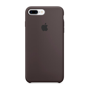 Силиконовый чехол Apple Silicone Case Cocoa (MMT12) для iPhone 7 Plus