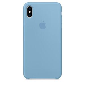 Купить Силиконовый чехол Apple Silicone Case Cornflower (MW952) для iPhone XS Max
