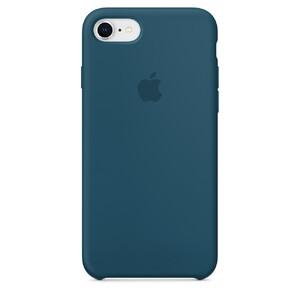 Купить Силиконовый чехол Apple Silicone Case Cosmos Blue (MR692) для iPhone 8/7