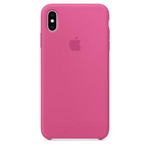 Купить Силиконовый чехол Apple Silicone Case Dragon Fruit (MW972) для iPhone XS Max