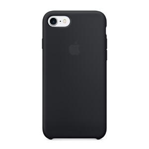Купить Силиконовый чехол Apple Silicone Case Black (MMW82) для iPhone 7