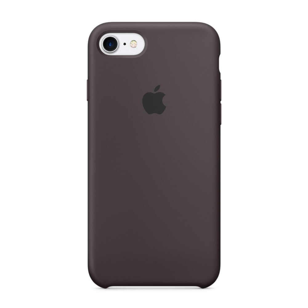 Силиконовый чехол Apple Silicone Case Cocoa (MMX22) для iPhone 7/8
