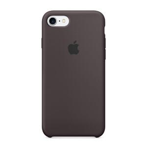 Купить Силиконовый чехол Apple Silicone Case Cocoa (MMX22) для iPhone 7