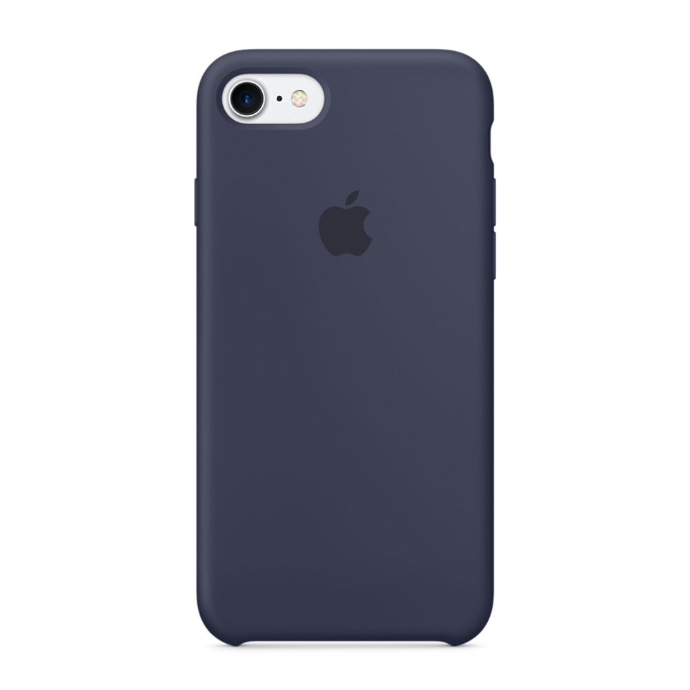 Силиконовый чехол Apple Silicone Case Midnight Blue (MMWK2) для iPhone 7/8