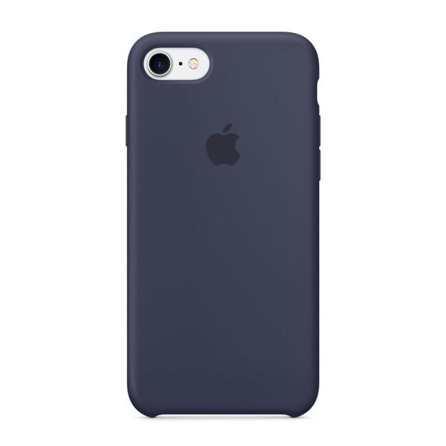 Силиконовый чехол Apple Silicone Case Midnight Blue (MMWK2) для iPhone 7