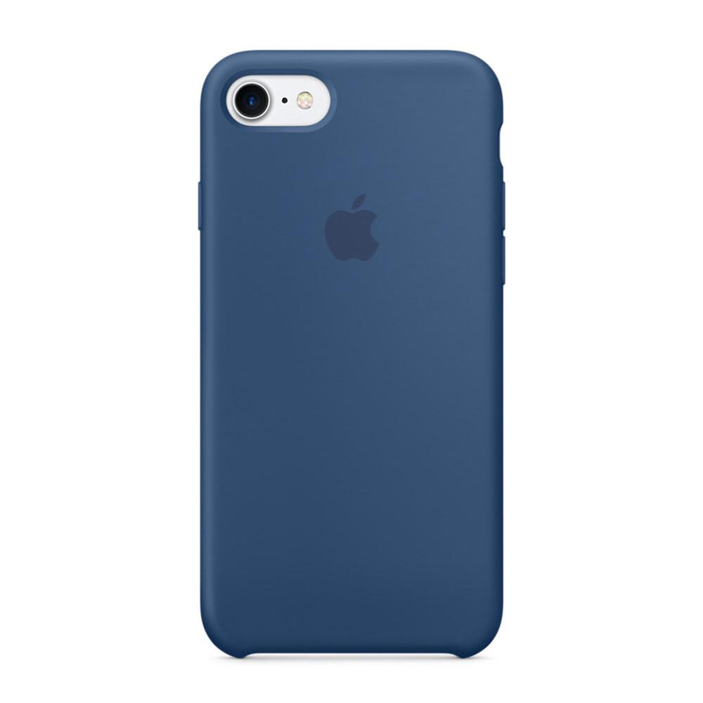 Силиконовый чехол Apple Silicone Case Ocean Blue (MMWW2) для iPhone 7