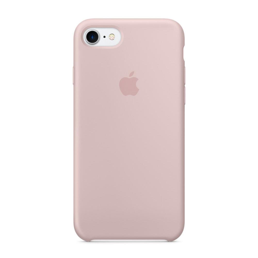 Силиконовый чехол Apple Silicone Case Pink Sand (MMX12) для iPhone 7/8