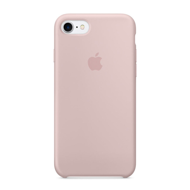 Силиконовый чехол Apple Silicone Case Pink Sand (MMX12) для iPhone 7