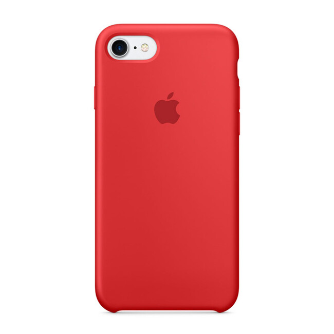 Силиконовый чехол Apple Silicone Case (PRODUCT) RED (MMWN2) для iPhone 7