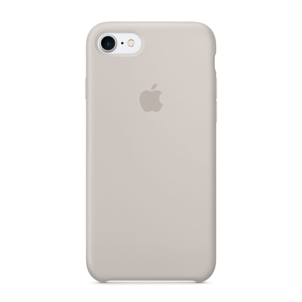 Силиконовый чехол Apple Silicone Case Stone (MMWR2) для iPhone 7/8