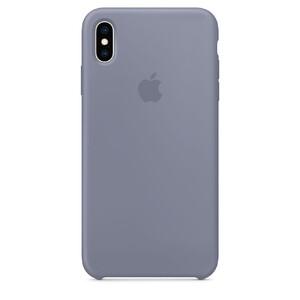Купить Силиконовый чехол Apple Silicone Case Lavender Gray (MTFH2) для iPhone XS Max