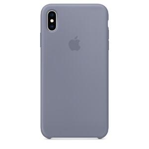 Купить Силиконовый чехол Apple Silicone Case Lavender Gray (MTFC2) для iPhone XS/X