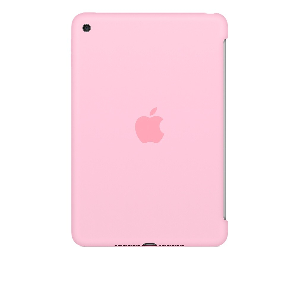 Чехол Apple Silicone Case Light Pink (MM3L2) для iPad mini 4