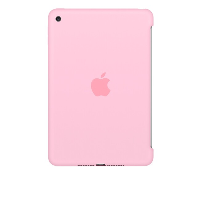 Чехол Apple Silicone Case Light Pink (MM3L2) для iPad mini 4