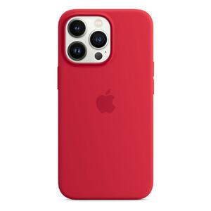 Силиконовый чехол Apple Silicone Case MagSafe (PRODUCT)RED (MM2L3) для iPhone 13 Pro