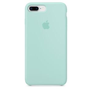 Купить Силиконовый чехол Apple Silicone Case Marine Green (MRRA2) для iPhone 8 Plus/7 Plus