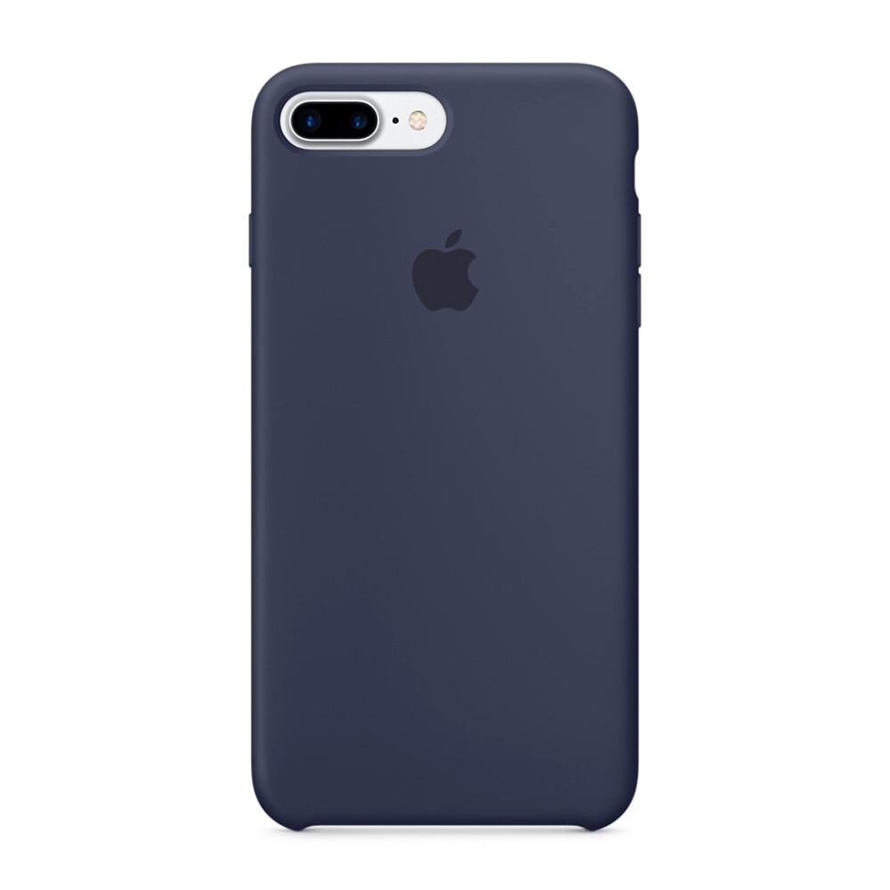 Силиконовый чехол Apple Silicone Case Midnight Blue (MMQU2) для iPhone 7 Plus