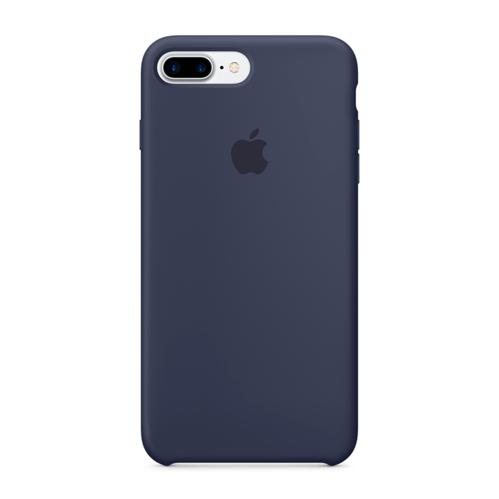 Купить Силиконовый чехол Apple Silicone Case Midnight Blue (MMQU2) для iPhone 7 Plus | 8 Plus
