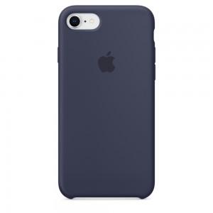 Купить Силиконовый чехол Apple Silicone Case Midnight Blue (MQGM2) для iPhone 8/7