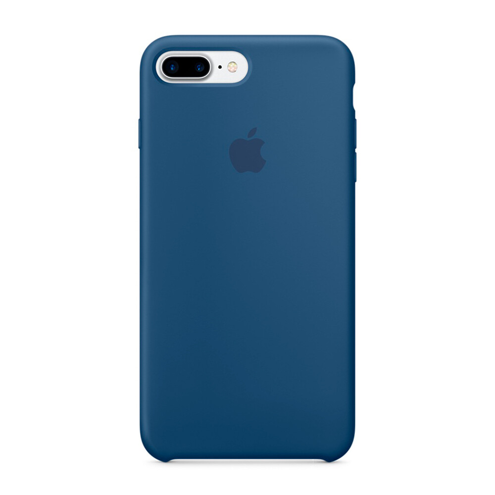 Силиконовый чехол Apple Silicone Case Ocean Blue (MMQX2) для iPhone 7 Plus/8 Plus
