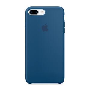 Купить Силиконовый чехол Apple Silicone Case Ocean Blue (MMQX2) для iPhone 7 Plus/8 Plus