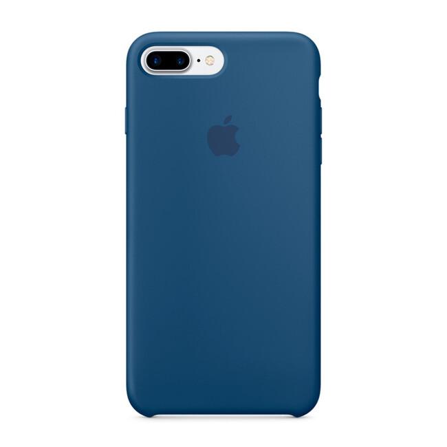 Силиконовый чехол Apple Silicone Case Ocean Blue (MMQX2) для iPhone 7 Plus