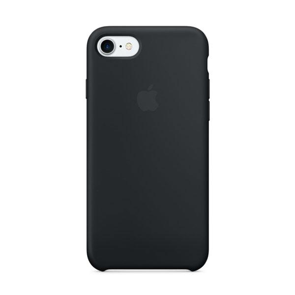 Купить Силиконовый чехол oneLounge Silicone Case Black для iPhone 7 | 8 | SE 2020 OEM (MQGK2)
