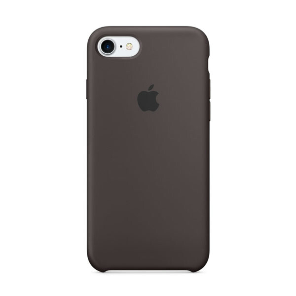 Силиконовый чехол oneLounge Silicone Case Cocoa для iPhone 7 | 8 | SE 2020 OEM