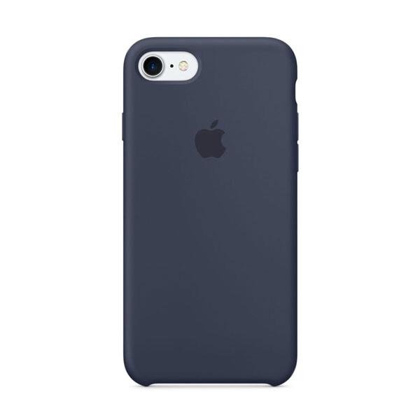 Силиконовый чехол iLoungeMax Silicone Case Midnight Blue для iPhone 7 | 8 | SE 2020 OEM (MQGM2)