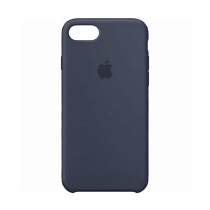 Купить Силиконовый чехол Silicone Case OEM Midnight Blue для iPhone 7
