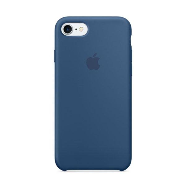 Силиконовый чехол iLoungeMax Silicone Case Ocean Blue для iPhone 7 | 8 | SE 2020 OEM (MQGN2)