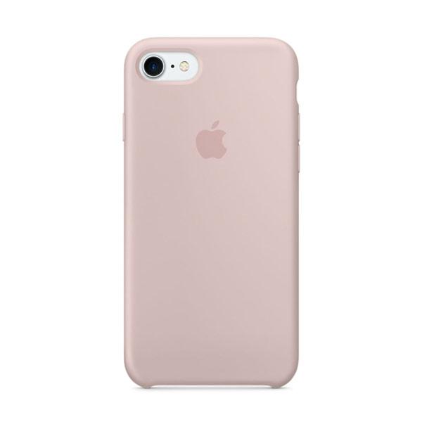 Купить Силиконовый чехол oneLounge Silicone Case Pink Sand для iPhone 7 | 8 | SE 2020 OEM (MQGQ2)