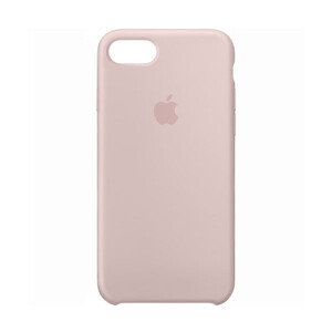 Купить Силиконовый чехол Silicone Case OEM Pink Sand для iPhone 7