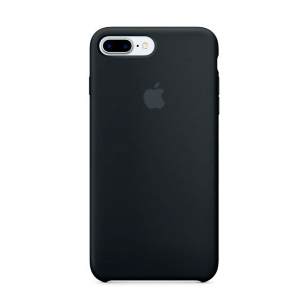 Силиконовый чехол oneLounge Silicone Case Black для iPhone 7 Plus OEM (MMQR2)