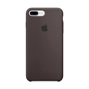 Купить Силиконовый чехол Silicone Case OEM Cocoa для iPhone 7 Plus/8 Plus