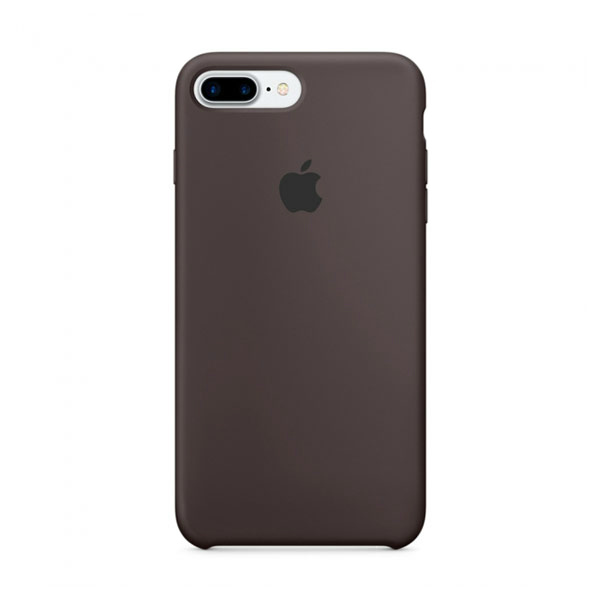 Силиконовый чехол iLoungeMax Silicone Case Cocoa для iPhone 7 Plus | 8 Plus OEM (MMT12)
