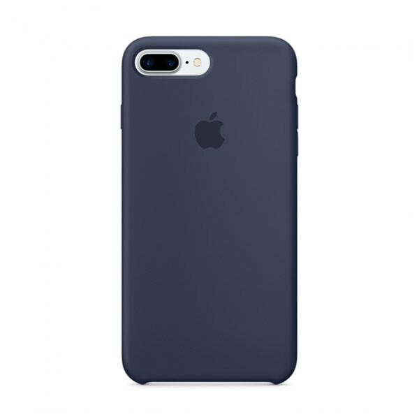 Силиконовый чехол iLoungeMax Silicone Case Midnight Blue для iPhone 7 Plus   8 Plus OEM (MMQU2)