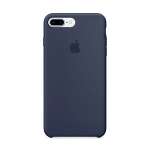 Купить Силиконовый чехол oneLounge Silicone Case Midnight Blue для iPhone 7 Plus/8 Plus OEM (MMQU2)