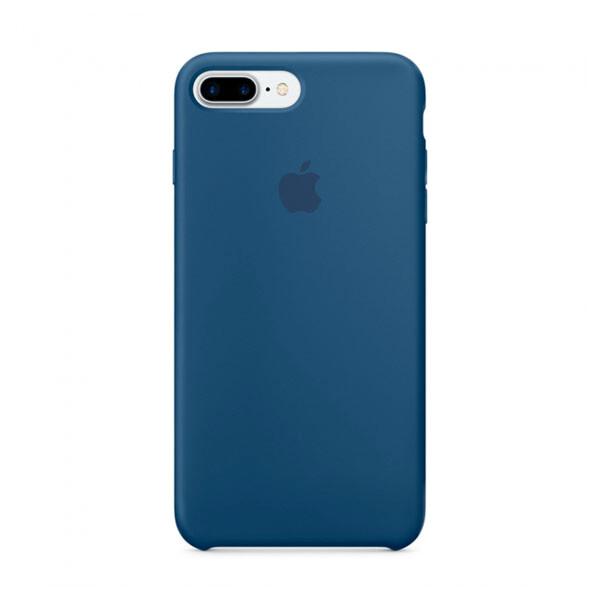 Силиконовый чехол iLoungeMax Silicone Case Ocean Blue для iPhone 7 Plus   8 Plus OEM (MMQX2)