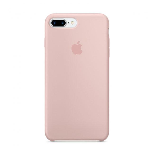 Купить Силиконовый чехол oneLounge Silicone Case Pink Sand для iPhone 7 Plus   8 Plus OEM (MMT02)